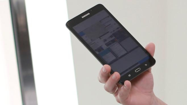 Samsung Galaxy Tab A 7.0 ©COMPUTER BILD