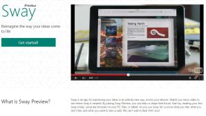 Microsofts Sway: Schnelle und schöne Online-Präsentationen ©Microsoft: sway.com