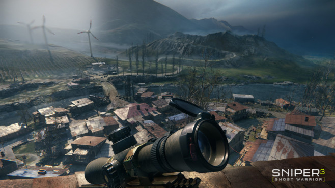 Sniper Ghost Warrior 3: Das ewige Talent Sniper Ghost Warrior 3: Besonders der Blick in die Ferne ist beeindruckend. ©Koch Media/CI Games