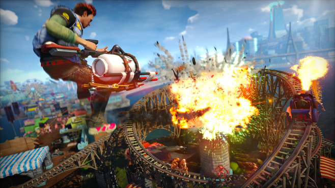 Actionspiel Sunset Overdrive © Insomniac Games
