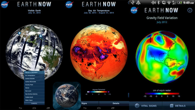 Earth Now © Jet Propulsion Laboratory