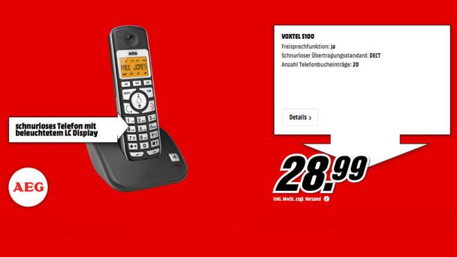 AEG Voxtel S100 ©Media Markt