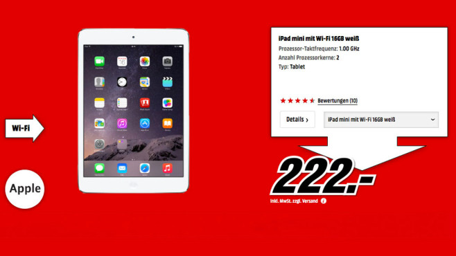 Apple iPad mini 16GB WiFi © Media Markt