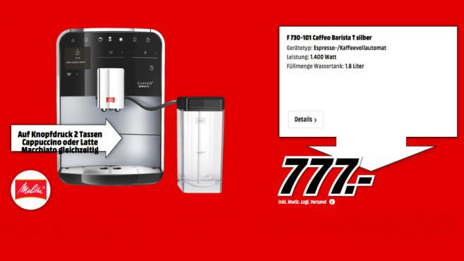 Melitta Caffeo Barista T F 730-101 ©Media Markt