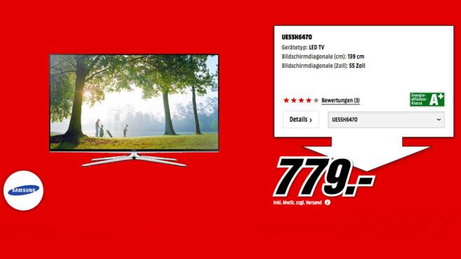 Samsung UE55H6470 ©Media Markt