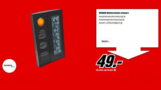 TechnoLine WS 6650 ©Media Markt