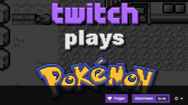 Aufreger 2014: Twitch plays Pokemon © twitch.com