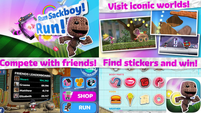 Run Sackboy! Run! © PlayStation Mobile Inc