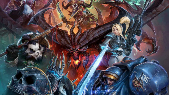 Online-Strategiespiel Heroes of the Storm © Activision Blizzard