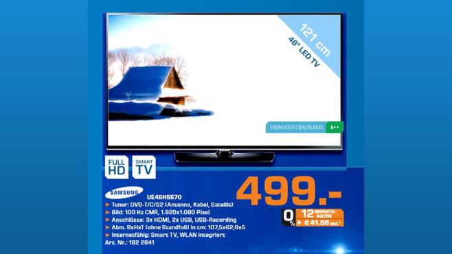 Samsung UE48H5570 ©Saturn