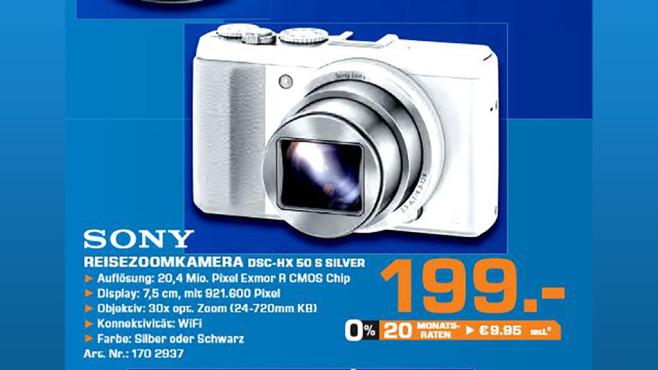 Sony Cyber-shot DSC-HX50V ©Saturn