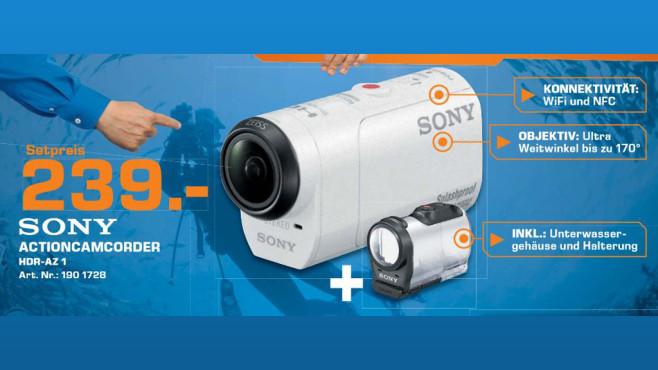 Sony HDR-AZ1 ©Saturn