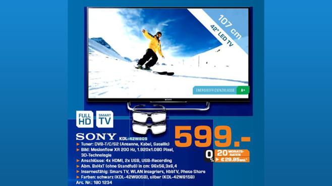 Sony KDL-42W805B ©Saturn