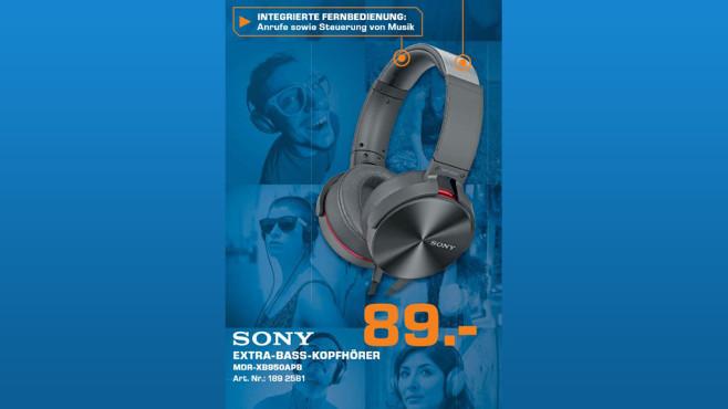 Sony MDR-XB950APB ©Saturn
