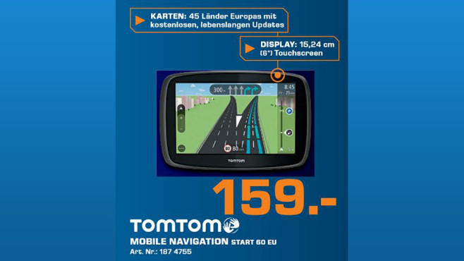 TomTom Start 60 Europe ©Saturn
