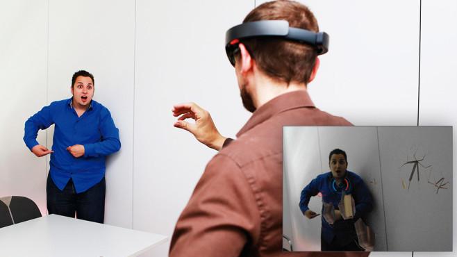 Microsoft HoloLens im Praxis-test ©COMPUTER BILD