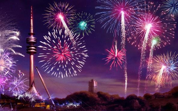 Großfeuerwerk ©Rondomedia