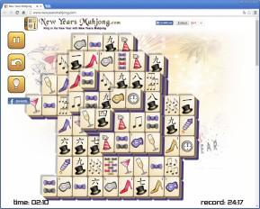 Neujahrs-Mahjong