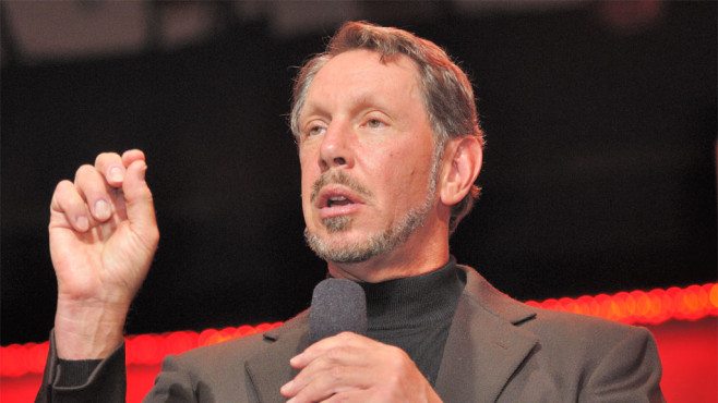 Oracle-Boss Larry Ellison © Oracle