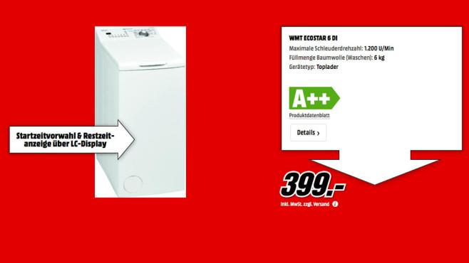 Bauknecht WMT EcoStar 6 DI ©Media Markt