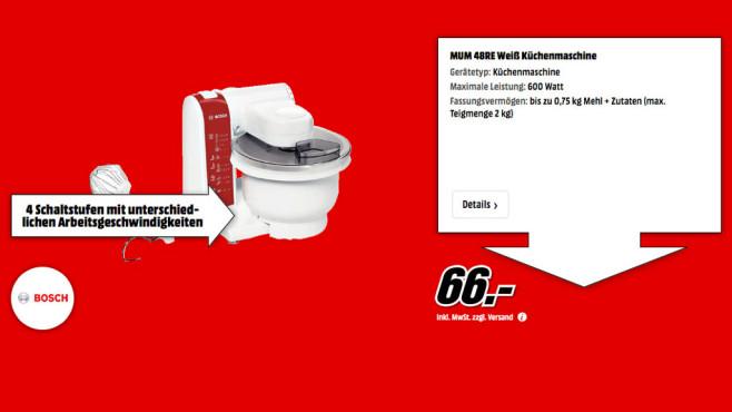 Bosch MUM 48R ©Media Markt