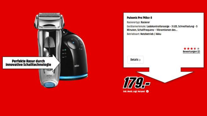 Braun 765cc-6 Series 7 ©Media Markt