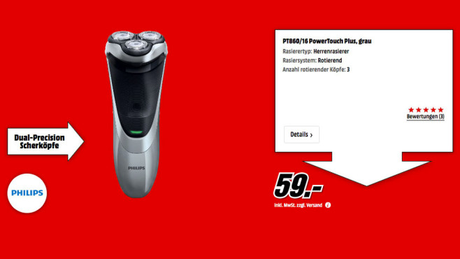 Philips PT860/16 PowerTouch © Media Markt
