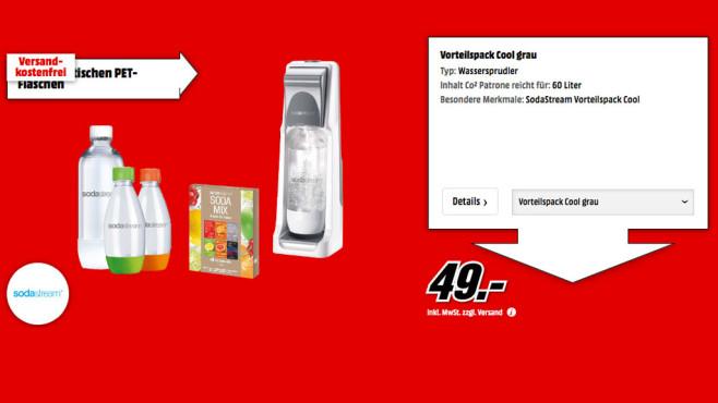 SodaStream Cool Megapack ©Media Markt