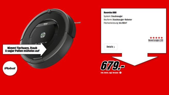 iRobot Roomba 880 ©Media Markt