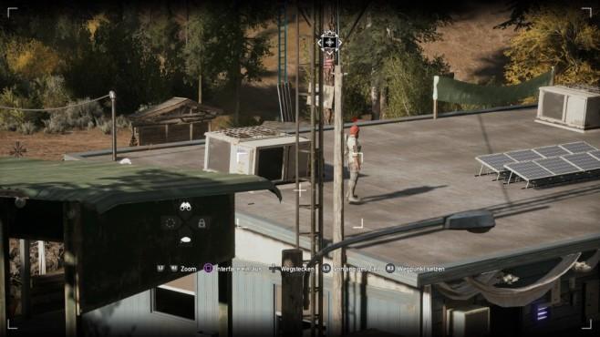 Far Cry 5 im Test: Hipster und Hetzer Die Gegner-KI gehört nicht zu der schlausten. ©Ubisoft