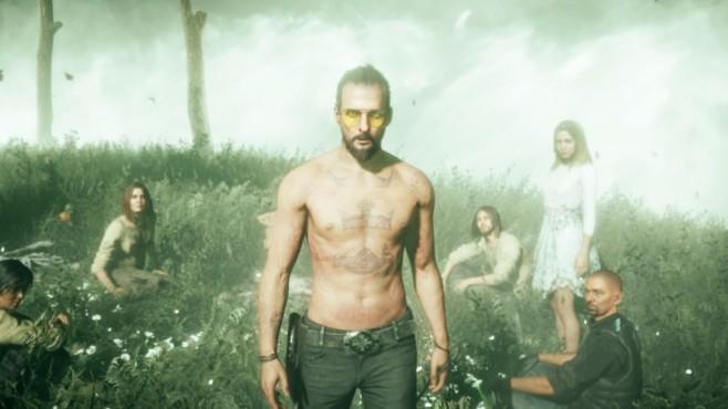 Far Cry 5 im Test: Hipster und Hetzer Joseph Seed ist ein völlig durchgeknallter Psycho-Prediger – mit Charisma. ©Ubisoft