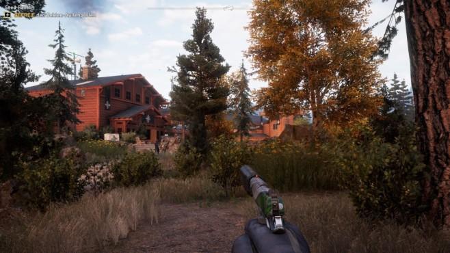 """Far Cry 5 im Test: Hipster und Hetzer Klassisches """"Far Cry""""-Gameplay: Außenposten befreien macht total Spaß! ©Ubisoft"""