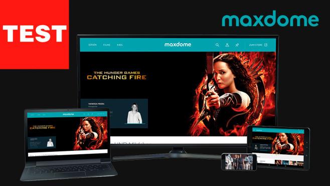 Maxdome Flatrate Test ©Maxdome, COMPUTER BILD