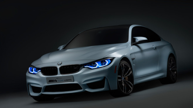 BMW M4 Concept Iconic Lights © BMW