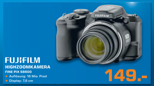 Fujifilm FinePix S8600 © Saturn