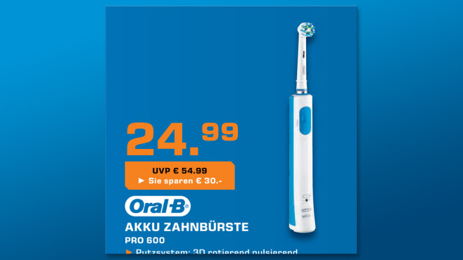 Oral-B Pro 600 CrossAction © Saturn