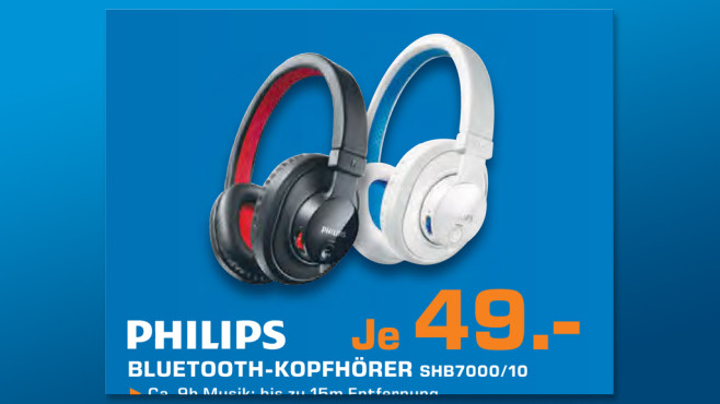 Philips SHB7000 © Saturn