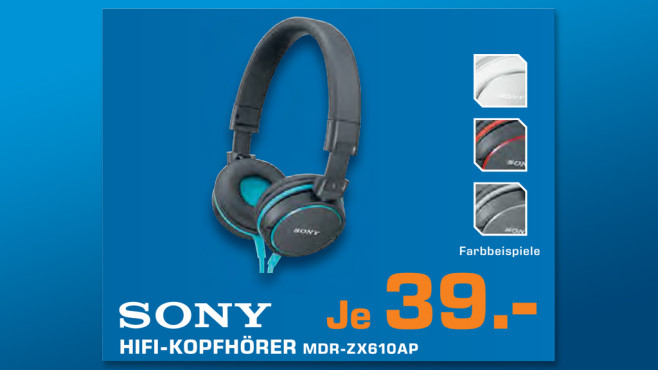 Sony MDR-ZX610AP © Saturn