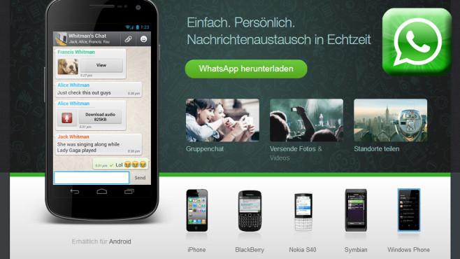 Whatsapp boomt in ungeahntem Ausmaß ©whatsapp.com