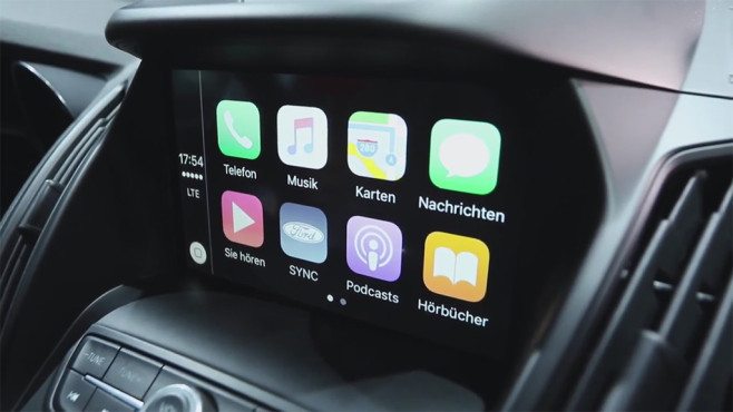 Ford  Sync 3 mit Apple CarPlay © COMPUTER BILD
