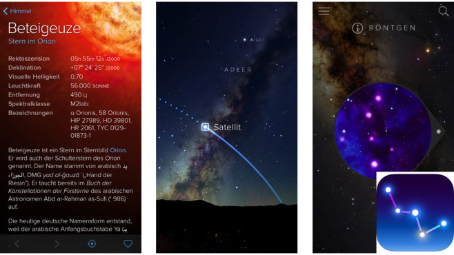 Sky Guide ©Fifth Star Labs