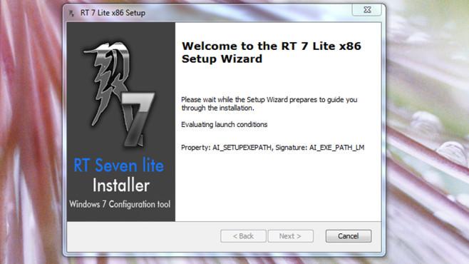 RT Seven Lite: System nach Maß neu installieren ©COMPUTER BILD