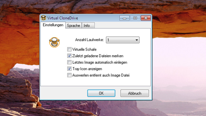 Virtual CloneDrive: Images in den Dateimanager einbinden © COMPUTER BILD