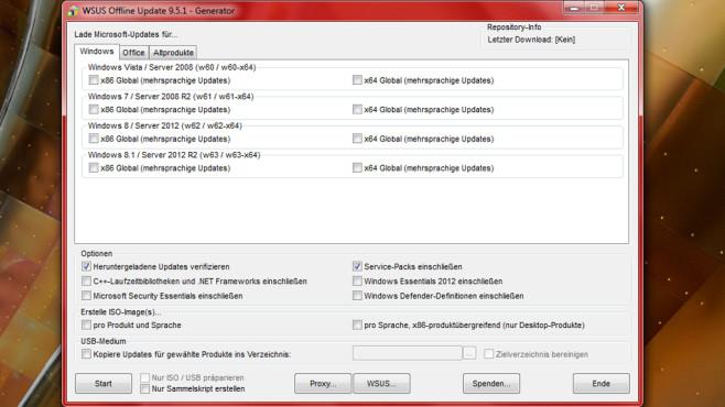 WSUS Offline Update: System offline aktualisieren ©COMPUTER BILD