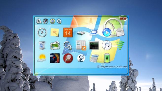Windows Seven Sidebar: Gadget-Seitenleiste zurückholen ©COMPUTER BILD