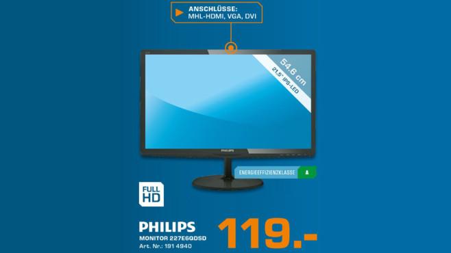 Philips 227E6QDS ©Saturn