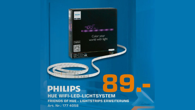 Philips Friends of Hue LightStrips Extention Kit © Saturn