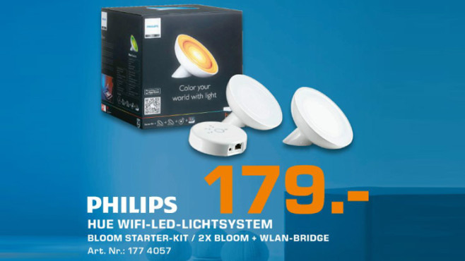 Philips Friends of Hue LivingColors Starter Kit © Saturn