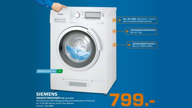 Siemens WD14H540 ©Saturn