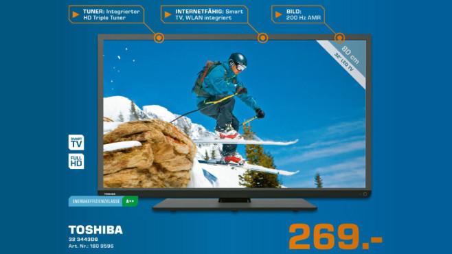 Toshiba 32L3443DG ©Saturn